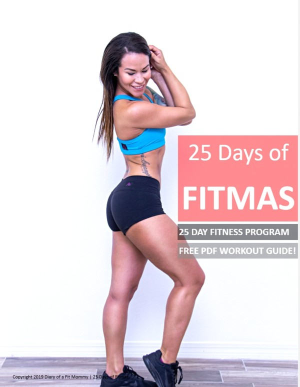 FREE 25 Days of FITMAS Workout Guide (2019)
