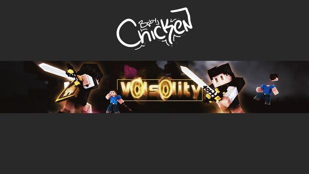 Minecraft Youtube Banner/Channel Art