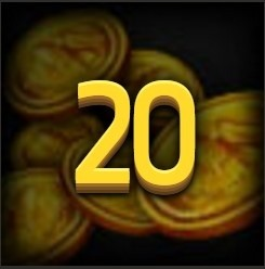 20 Gold Coins CODE