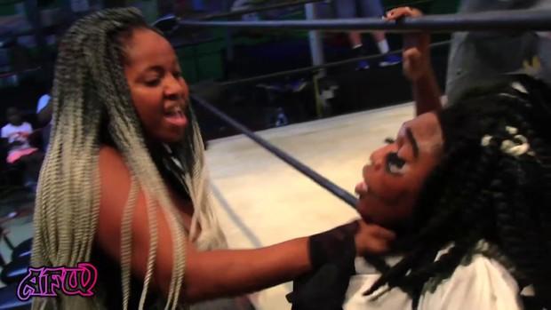 Atlanta Female Wrestling 2016