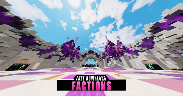 FACTIONS SPAWN [FREE MAP DOWNLOAD] ◀76▶