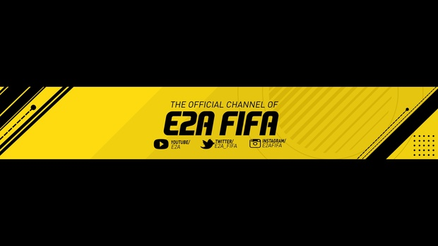 FIFA 17 FULLY EDITABLE YOUTUBE BANNER TEMPLATE