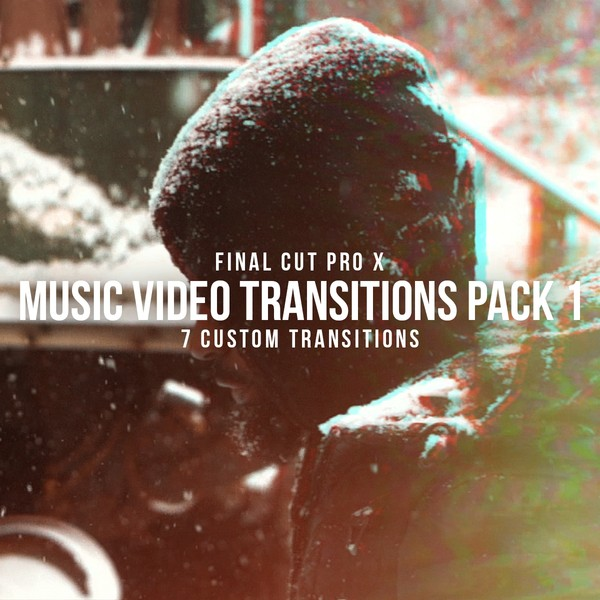 FOR FCPX | Music Video Transitions Pack 1