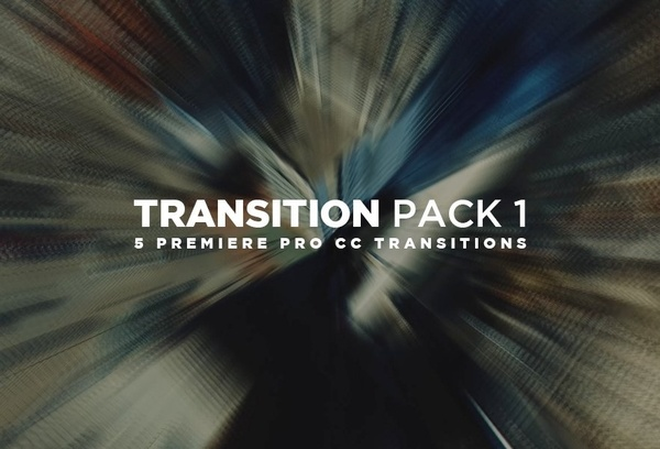 Transitions Pack 1 | ADOBE PREMIERE PRO CC+
