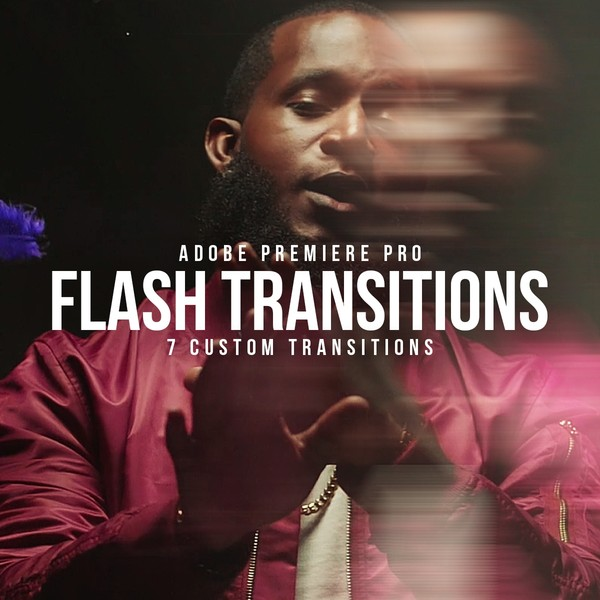 Flash Transitions Pack | Adobe Premiere Pro CC+