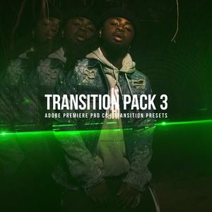Transitions Pack 3 | ADOBE PREMIERE PRO CC+