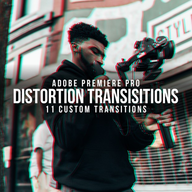 Distortion Transitions Pack | ADOBE PREMIERE PRO 2019