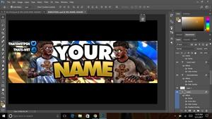 NBA 2K17 Banner Template
