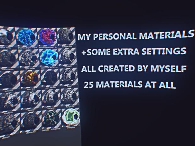 Kyrran 2K15 Material Pack