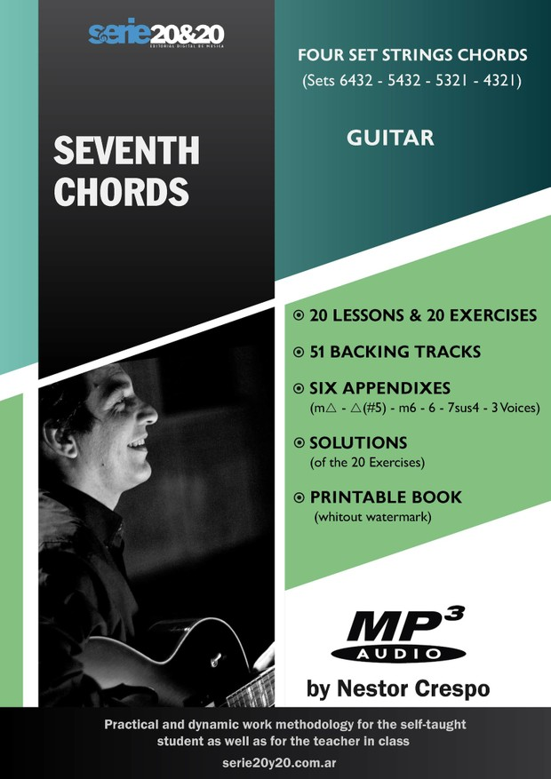 Guitar Seventh Chords With 51 Backing Tracks And S