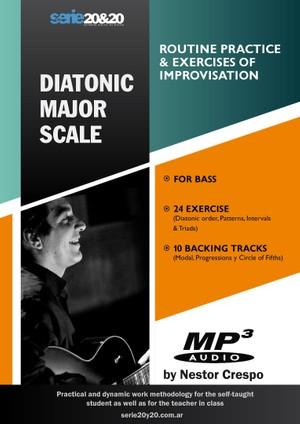 BASS / Major Scale  (Practice Routine & Improvisation)