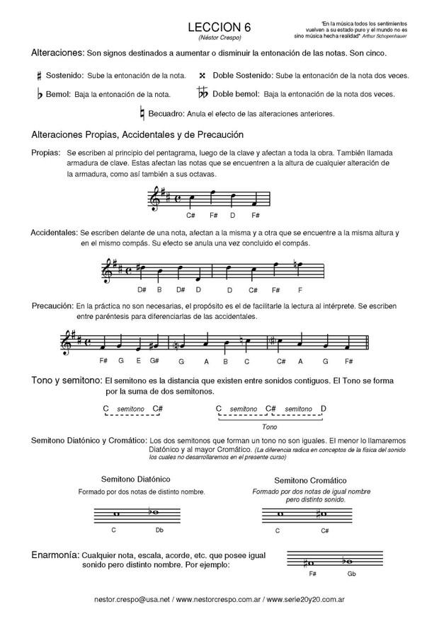 TEORIA / Lenguaje Musical