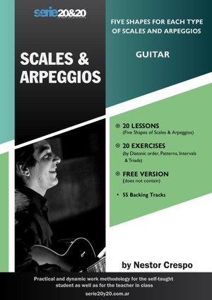 GUITAR / Donation -  Scales & Arpeggios
