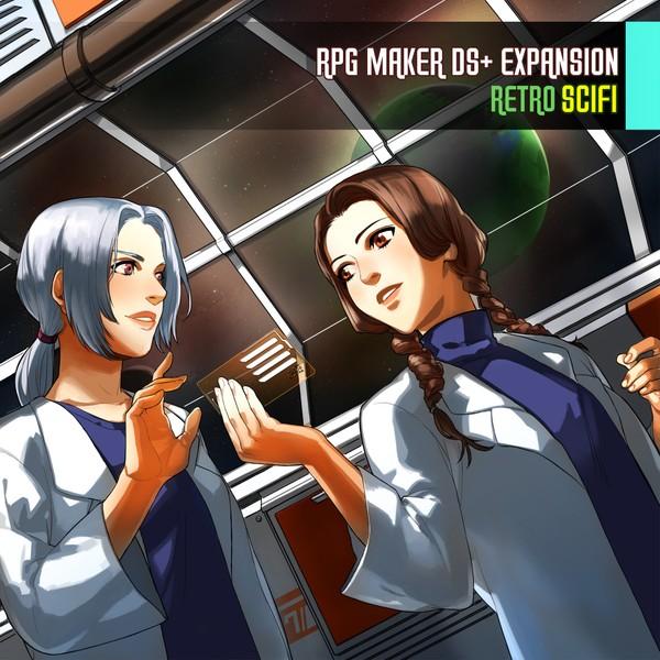 RPG Maker DS+ Expansion: Retro Scifi
