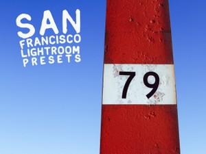 San Francisco Lightroom Presets