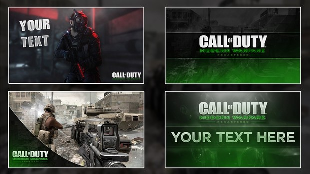 COD4 Remastered Thumbnail Pack