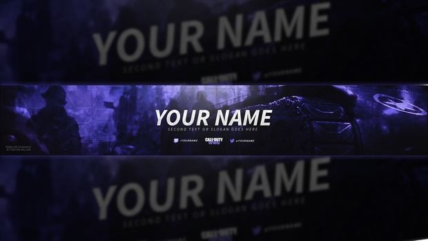 Youtube Template Banner | Tristan Nelson