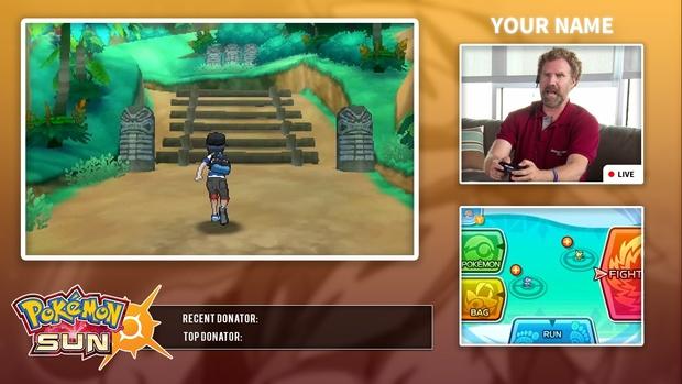 Pokémon Sun and Moon Video/Stream Overlay Template