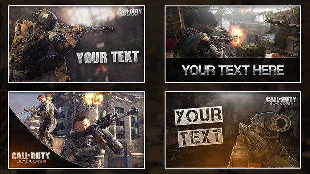 Black Ops 3 Thumbnail Pack