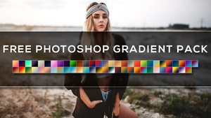 Free Photoshop Gradients Pack