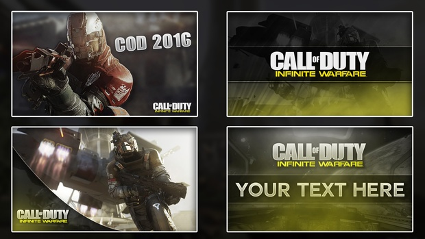 Call of Duty IW Thumbnail Pack