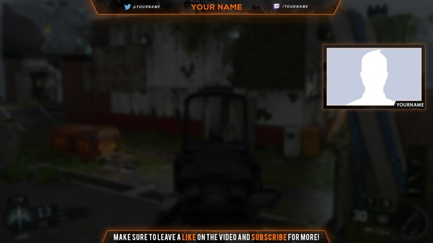 Black Ops 3 Overlay Template