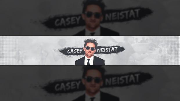 Casey Neistat Banner PSD