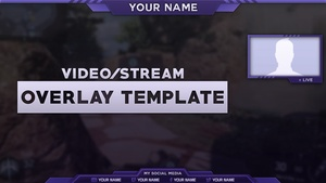 2016 Video/Stream Overlay Template