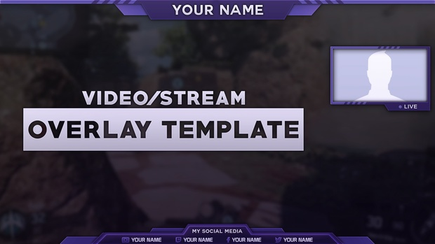 2016 Video/Stream Overlay Template