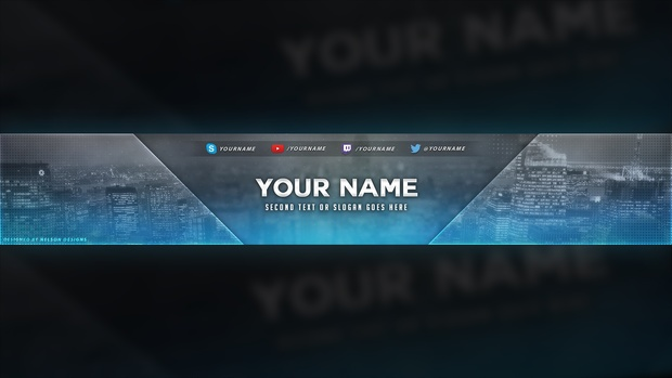 City Themed Banner Template