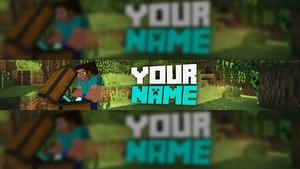 Minecraft Banner Template