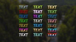 Photoshop Text Layer Styles Pack #2