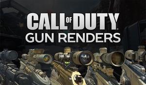Call of Duty Gun Render Pack