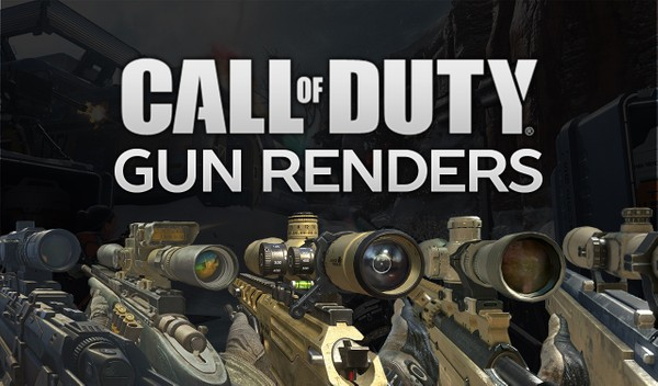 Call of Duty Gun Render Pack