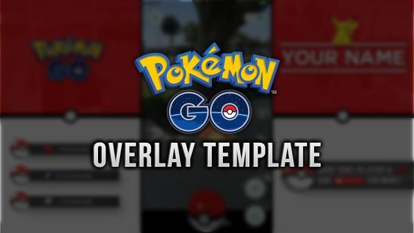 Pokemon GO Video/Stream Overlay Template
