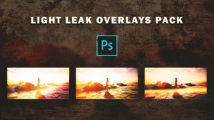 Light Leak Overlays Pack