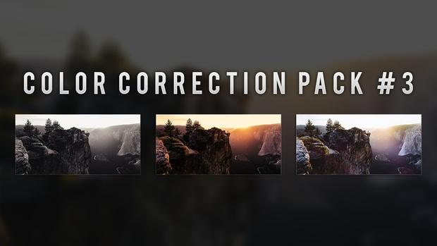 Photoshop Color Correction Pack #3