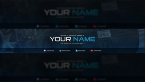Gaming YouTube Banner Template