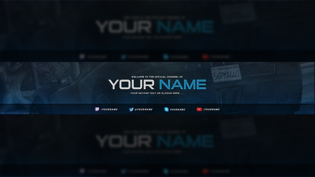 gaming youtube banner template tristan nelson