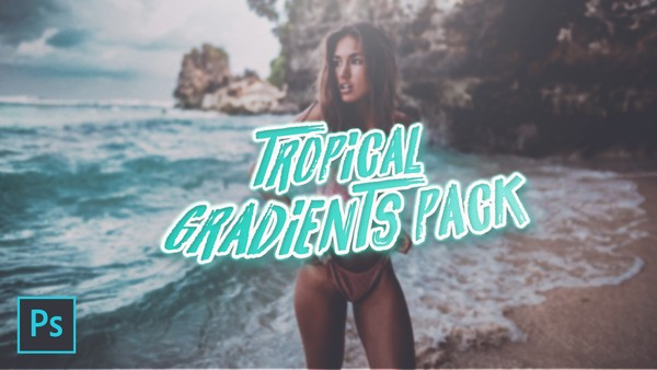Tropical Photoshop Gradients Pack