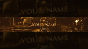 Assassin's Creed Origins YouTube Banner Template