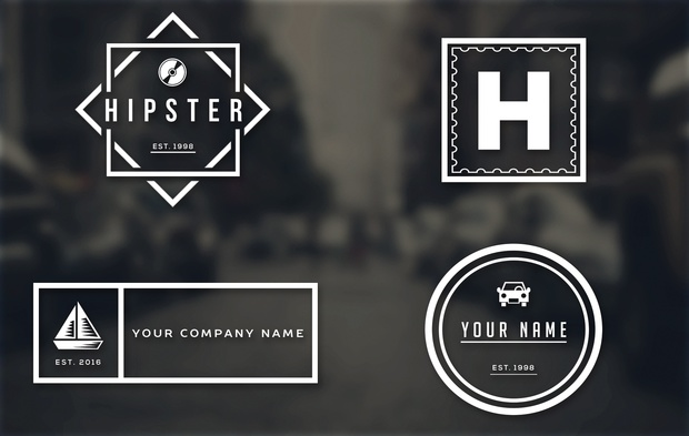 free hipster logo templates tristan nelson