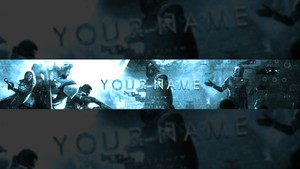Destiny 2 YouTube Banner Template