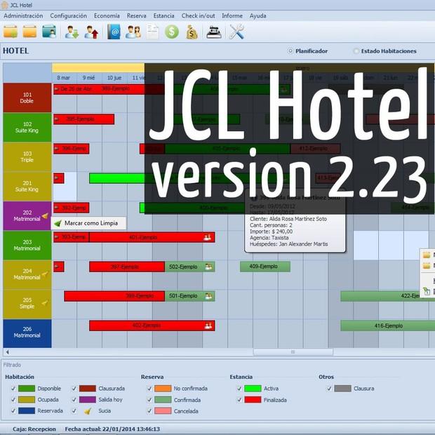 JCL Hotel+JCL POS 5-PC License Keys+POS Mobile