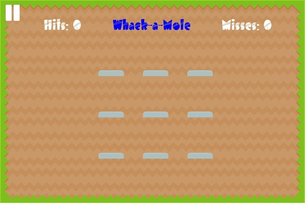 Game Template: Whack-A-Mole