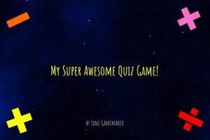 Basic Quiz Game Template for Corona SDK
