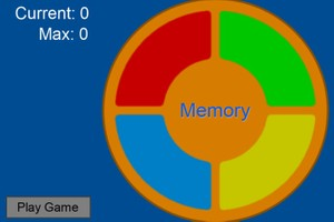 Game Template: Musical Memory
