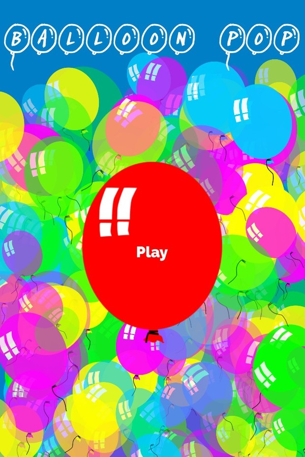 Game Template: Balloon Pop