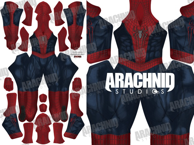 Amazing Spider-Man 2 (with muscle shading)