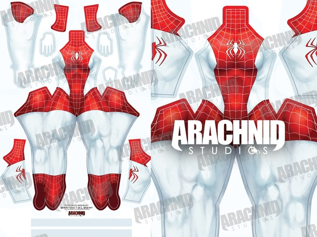 New Mary Jane Spider-Man Dye-sub pattern